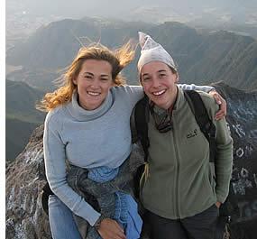 Op de top van de Volcan Baru