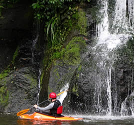 Kayaking and white water river rafting best months are during Panama's rainy season